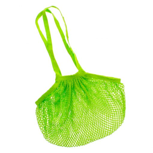 Filet à Provisions Vert en Coton Bio - Ecodis 1