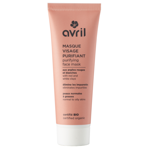 Masque Visage Purifiant Bio - 50ml - Avril 1