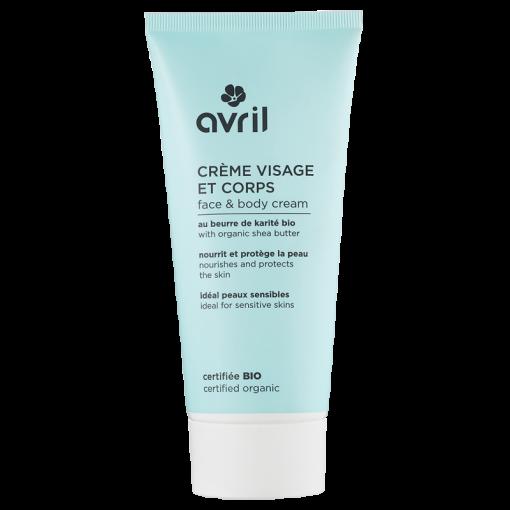 Crème Visage & Corps Bio - 200ml - Avril 1