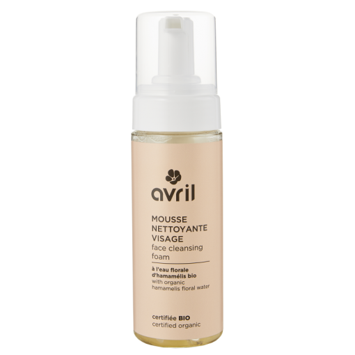 Mousse Nettoyante Visage Bio - 150ml - Avril 1