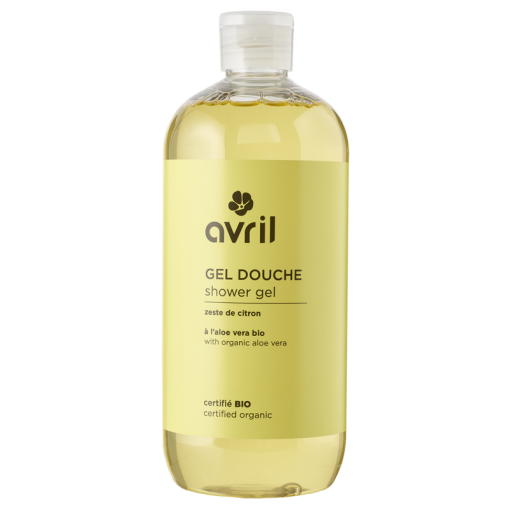 Gel Douche Zeste de Citron Bio - 500ml - Avril 1