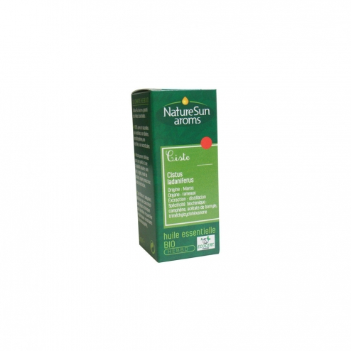 Huile essentielle Ciste ladanifère - 5 ml - Cistus Ladaniferu - NatureSunAroms 1