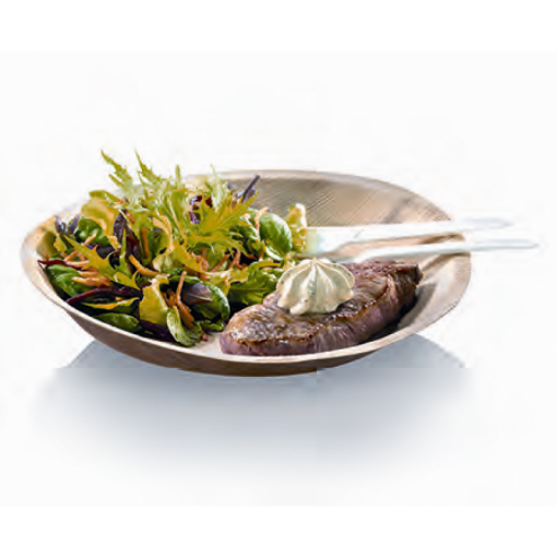 25 assiettes Plates Palmier - 24 cm - Crokus 1