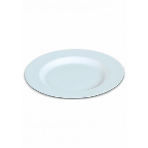Assiette Blanche Creuse en Canne à Sucre - 23cm - Crokus 1