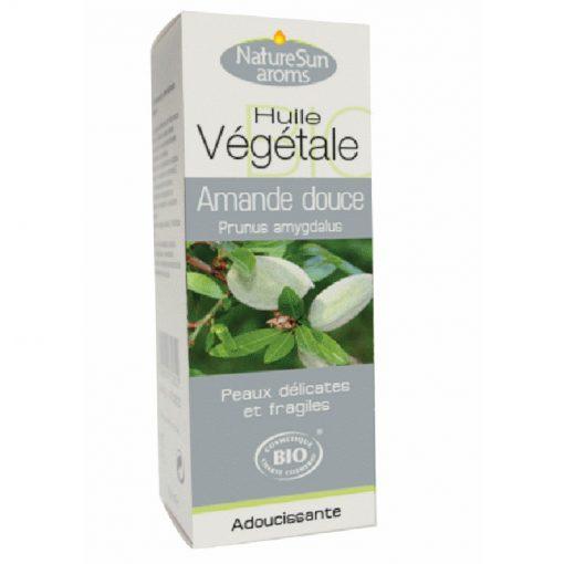 Amande douce Bio - Prunus amygdalus - Huile végétale - NatureSunAroms 1