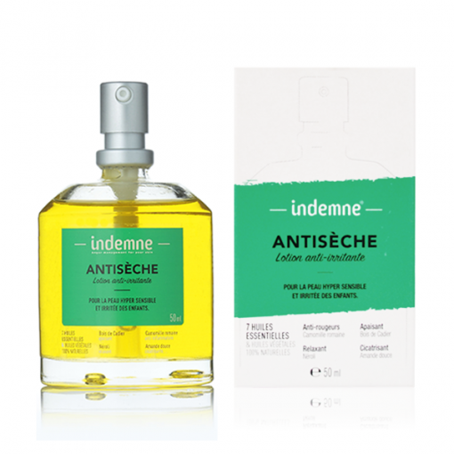Antisèche Lotion Anti-Irritante - 50ml - Indemne 1