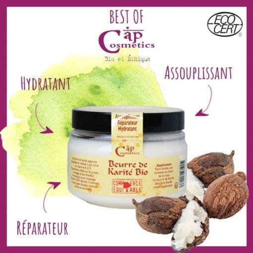 Beurre de Karité Bio - Cap Cosmetics 1