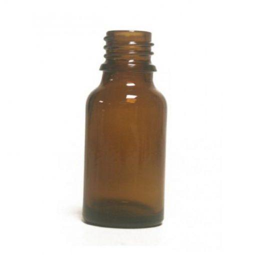 Bouteille en  verre - 15 ml - Ambre  pour huile essentielle  bouchon + codigoutte huile essentielle - NatureSunAroms 1