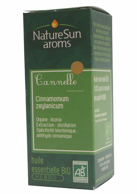 CANNELLE - Cinnamomum zeylanicum écorce - 10 ml - NatureSunAroms 1