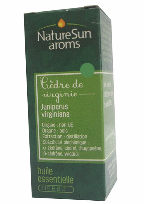 CEDRE VIRGINIE - Juniperus virginiana - 10 ml - NatureSunAroms 1