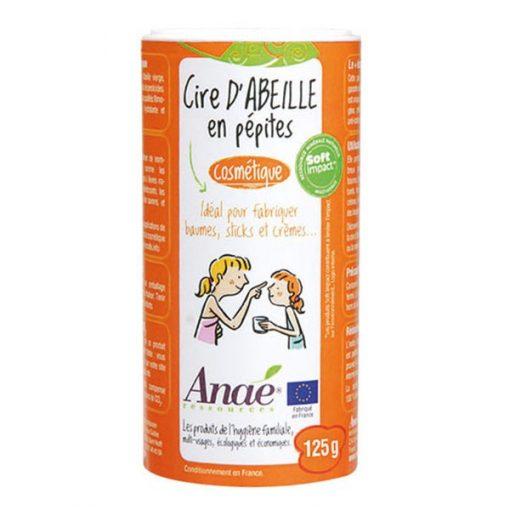 Cire d'Abeille en Pepites Cosmétique - 125g- Anae 1