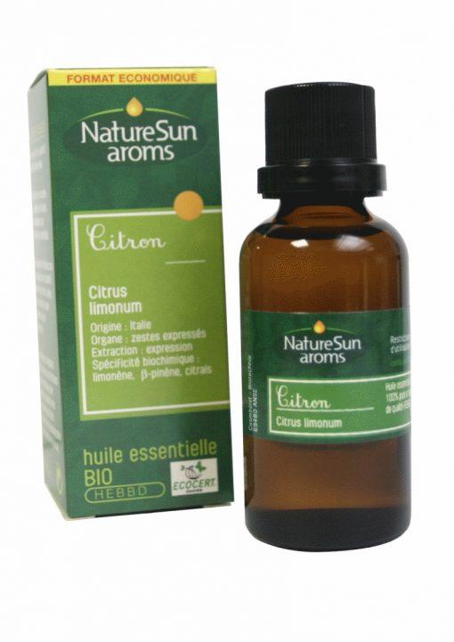 CITRON - Citrus limonum - 30 ml - NatureSunAroms 1