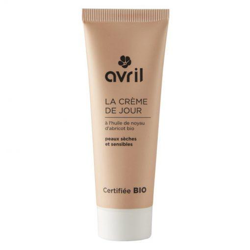 Crème de Jour Peaux Sèches & Sensibles Bio - 50ml - Avril 1