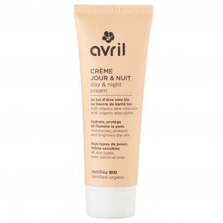 Crème jour et nuit - 50 ml - bio - vegan - Avril 1