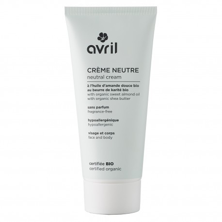 Crème neutre 200 ml - Certifiée bio - Avril 1