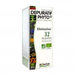 Dépuratif Phyto 32 AB - flacon 300 ml - Biotechnie 1