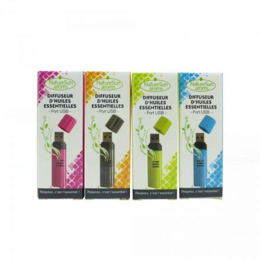 Diffuseur Huile essentielle - Clé USB colorée - NatureSunAroms 1
