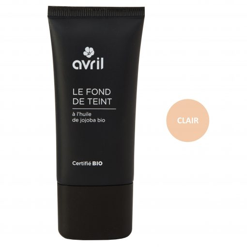 Fond de Teint Clair Bio - 30ml - Avril 1