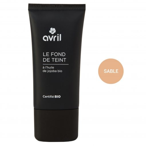 Fond de Teint Sable Bio - 30ml - Avril 1