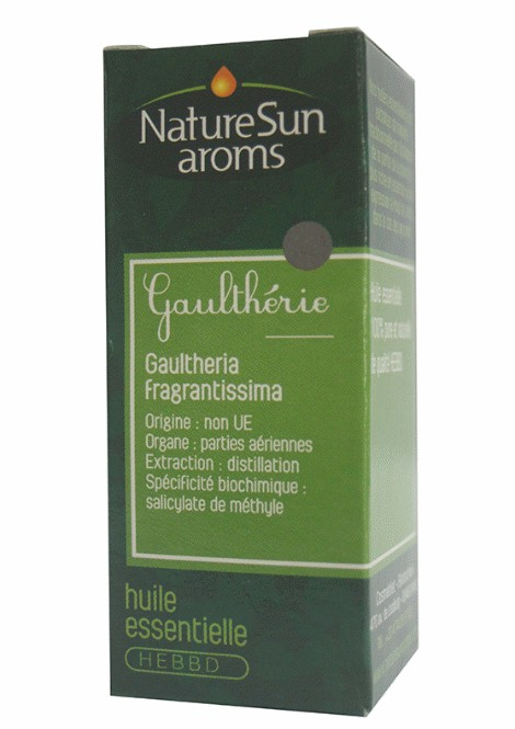 DLUO 2019 - GAULTHERIE - Gaultheria fragrantissima - 10 ml - NatureSunAroms 1