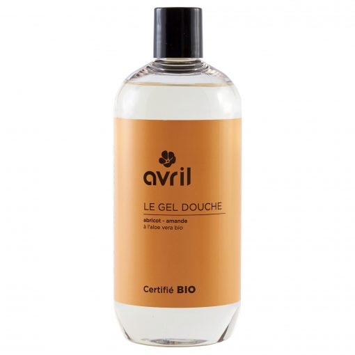 Gel Douche Abricot-Amande Bio - 500ml - Avril 1