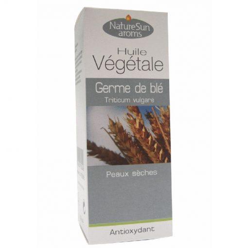 Germe de blé - Triticum vulgare - 50 ml - Huile végétale - NatureSunAroms 1