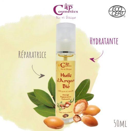 Huile d'Argan Bio - Cap Cosmetics 1