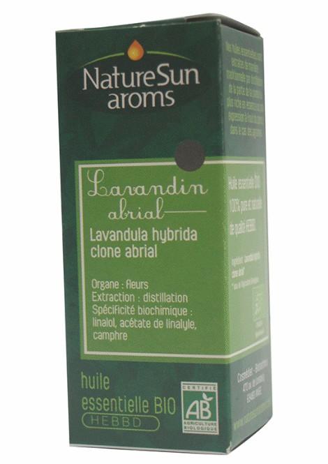 DLUO 2018 - LAVANDIN ABRIAL - Lavandula hybrida clone abrial - 10 ml - NatureSunAroms 1