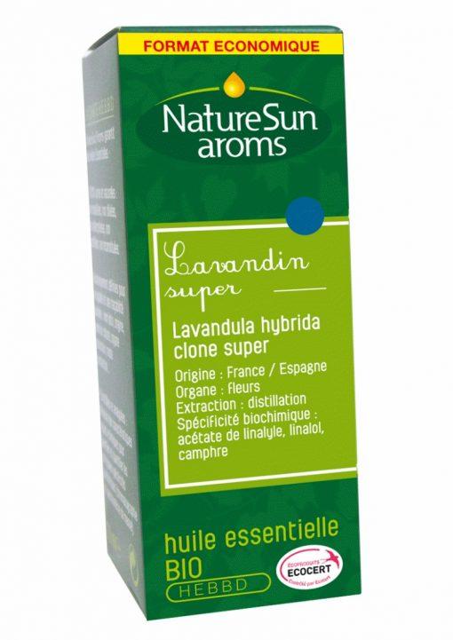 DLUO 2019 - LAVANDIN SUPER - Lavandula hybrida clone super - 10 ml - NatureSunAroms 1