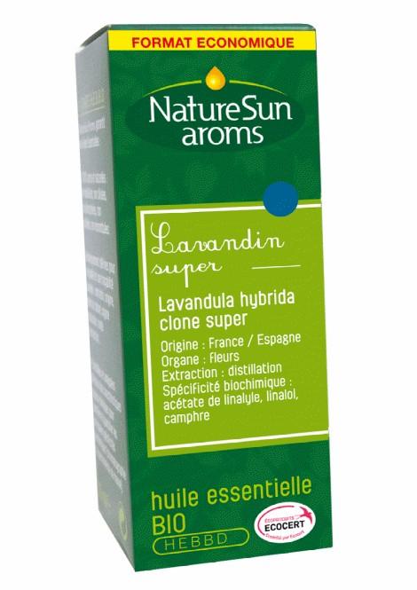 LAVANDIN SUPER - Lavandula hybrida clone super - 30 ml - NatureSunAroms 1