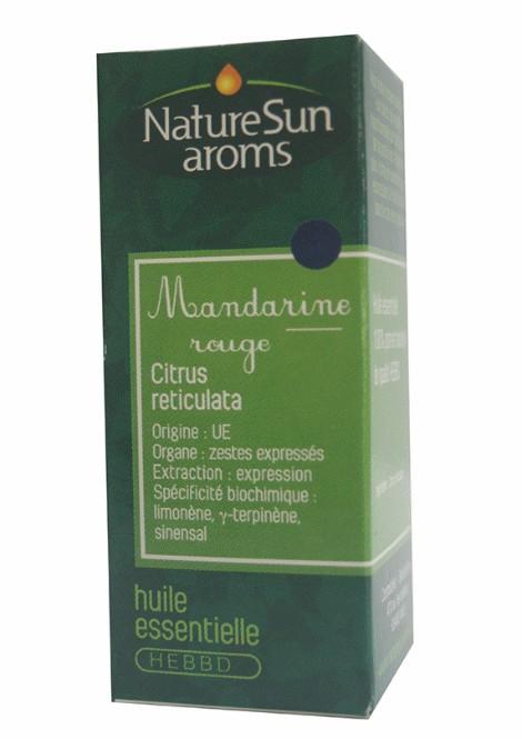 DLUO 2018 - MANDARINE ROUGE - Citrus reticulata - 10 ml - NatureSunAroms 1