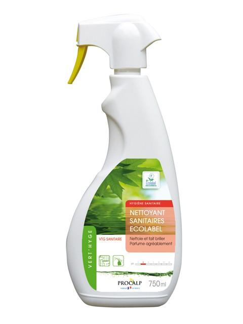 Nettoyant sanitaires Vert'hyge pulvérisateur - 750 ml - Procalys 1