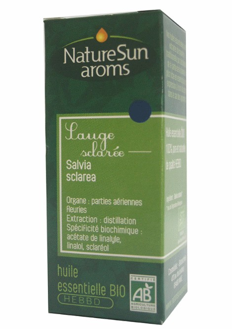 DLUO 2018 - SAUGE SCLAREE - Salvia sclarea - 10 ml - NatureSunAroms 1