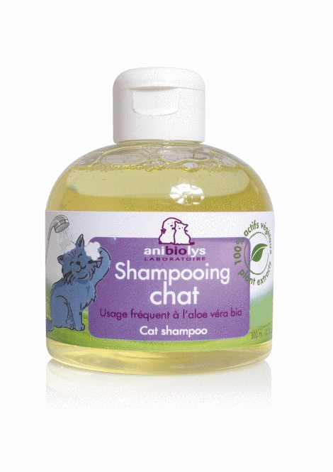 Shampooing Chat Bio - 300ml - Anibiolys 1