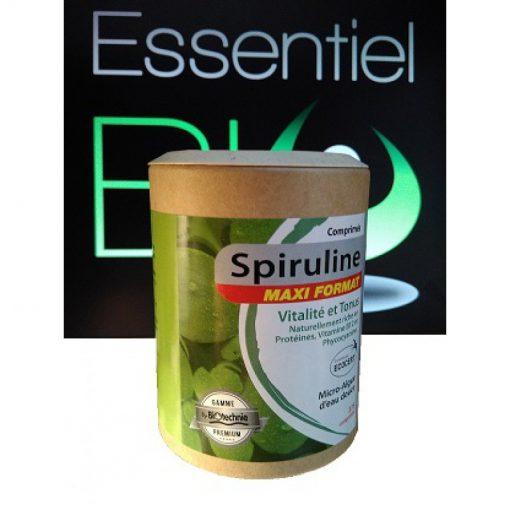 Spiruline bio - 375 gélules - 168 grammes - Biotechnie 1