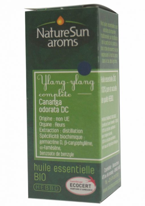 YLANG YLANG COMPLETE - Cananga odorata DC. - 10 ml - NatureSunAroms 1