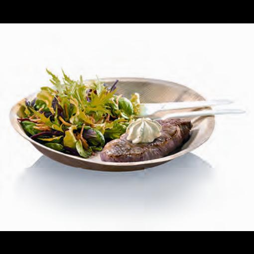 Assiette plate Palmier- 24 cm- 1