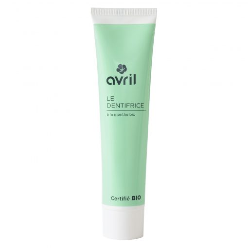 Dentifrice sans Fluor Bio - 100ml - Avril 1