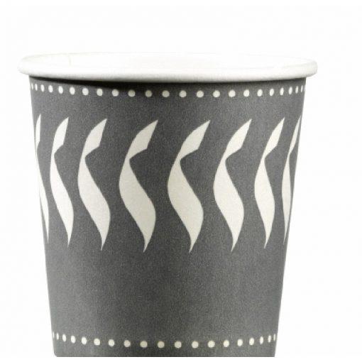 50 gobelets carton décoré 20 cl - chaud - 7oz 1