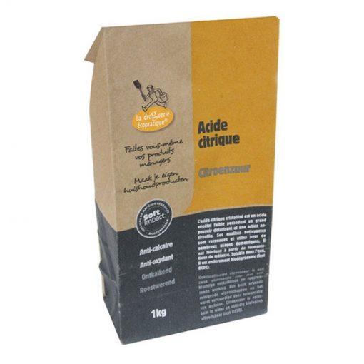 Acide citrique sac 500 gr - La droguerie écologique - Ecodis 1