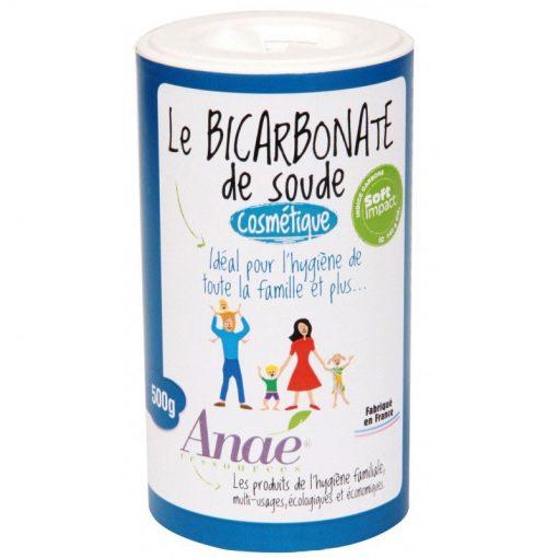 Bicarbonate de soude cosmétique en tube cartonné avec bouchon poudreur - tube - Ecodis 1