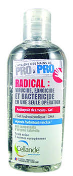 Gel Hydroalcoolique GHA - Antisepsie des mains - Cellande 1