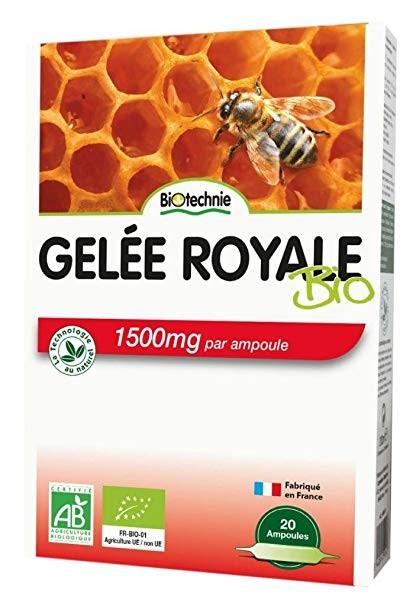 Biotechnie Gelée Royale Bio 1500 mg 20 Ampoules - Biotechnie 1
