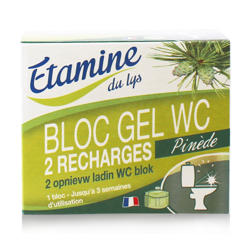 Lot de 2 recharges -50ml- BLOC GEL WC 1