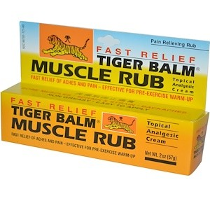 Muscle Rub Fast relief pommade - 30 gr - Tiger Balm 1