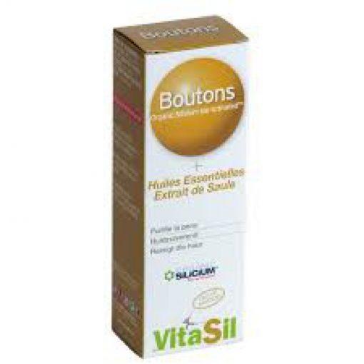 Silicium Boutons et Acné 30mL - Vitasil 1