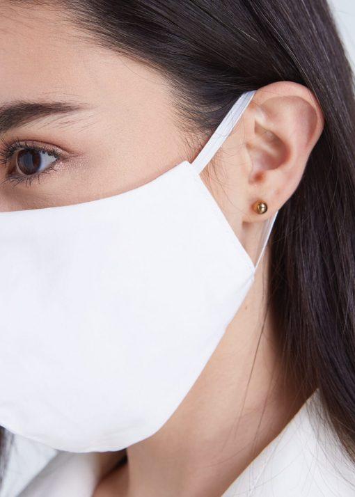 Masque barrière en mousseline/coton - LAVABLE 100 fois 1