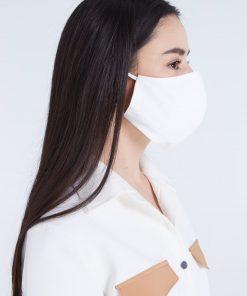 Masque barrière en mousseline/coton - LAVABLE 100 fois 4