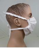 Masque barrière à plis - LAVABLE 10 fois - fabrication française 1
