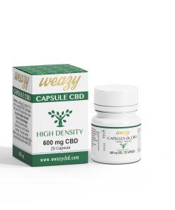 Capsules de CBD 30 mg (20 ou 60 capsules) WEAZY 3